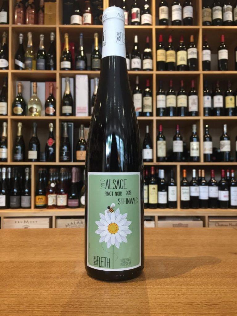 Florence nous fait découvrir le superbe Pinot Noir du génial alsacien Vincent Fleith.