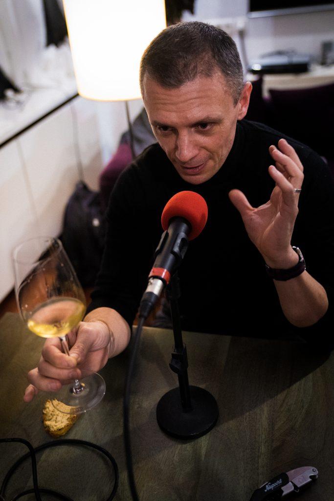 Photo de Manuel Peyrondet pendant le podcast numéro 63